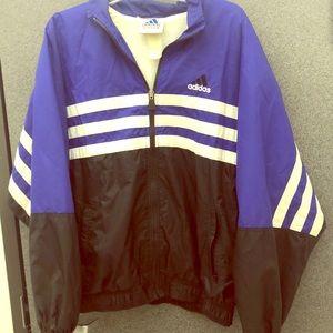 Vintage Adidas windbreaker jacket
